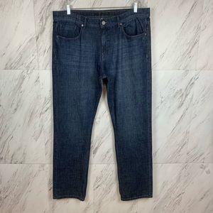 DL1961 Vince Casual Straight Leg Jeans Aston Sz 40